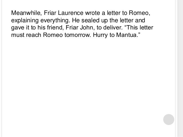 A letter from Michael Kahn about ROMEO & JULIET