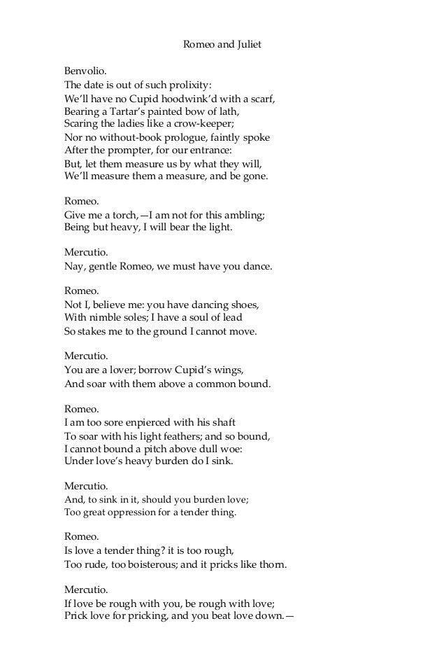 Romeo and Juliet modern english translation?