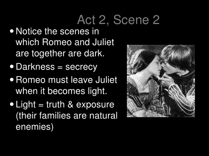 light and dark in romeo and juliet