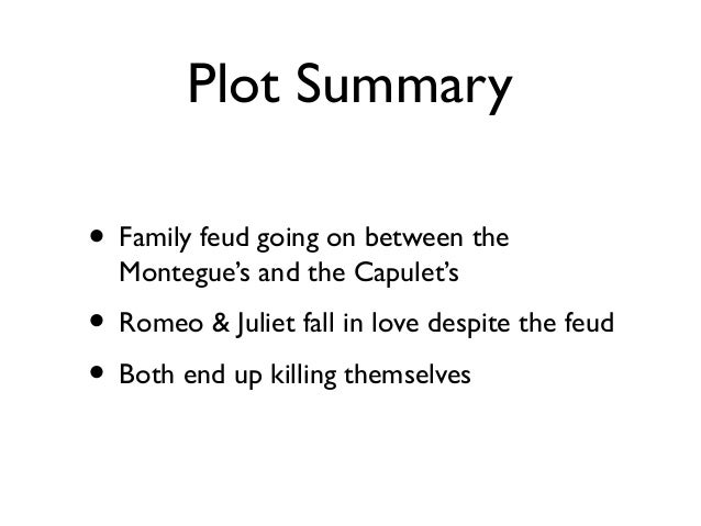 Romeo and juliet example