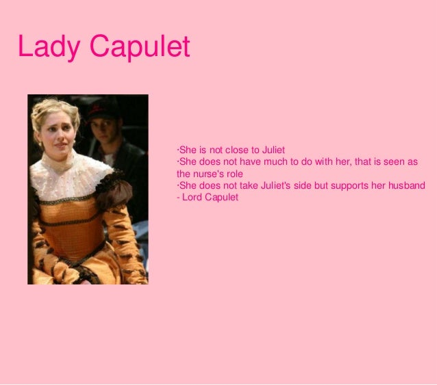 Lady Capulet Character Analysis