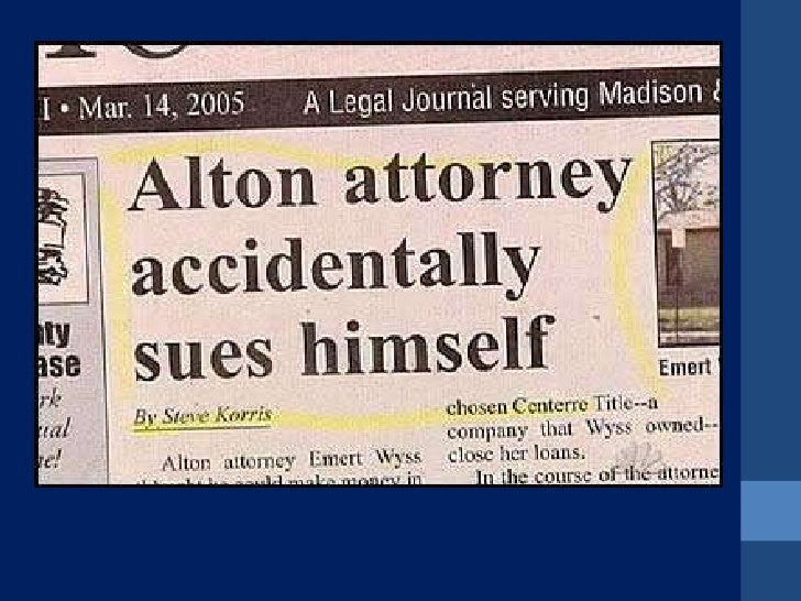 How to Write a Newspaper Headline