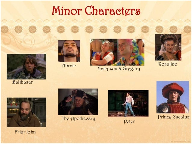 romeo and juliet minor character essay