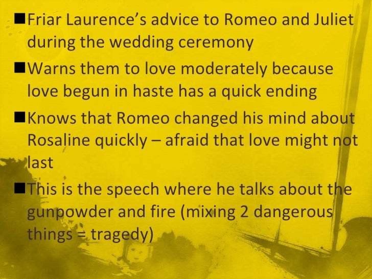Romeo And Juliet Quote Review