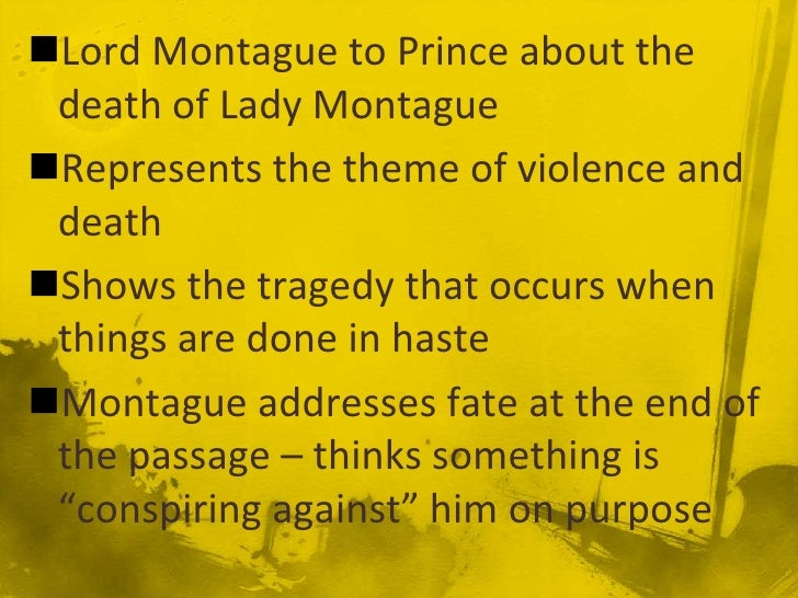 romeo and juliet what was the cause In william shakespeare's romeo and juliet , a with benvolio and ask him to discover its cause they exit as romeo enters in his sad state — a victim of an.