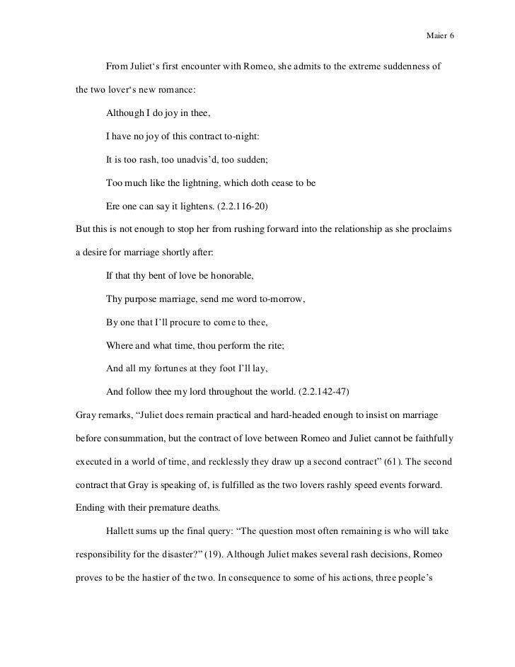 Romeo And Juliet Analytical Essay  Romefontanacountryinncom Romeo And Juliet Analytical Essay Ap English Literature Sample Essay