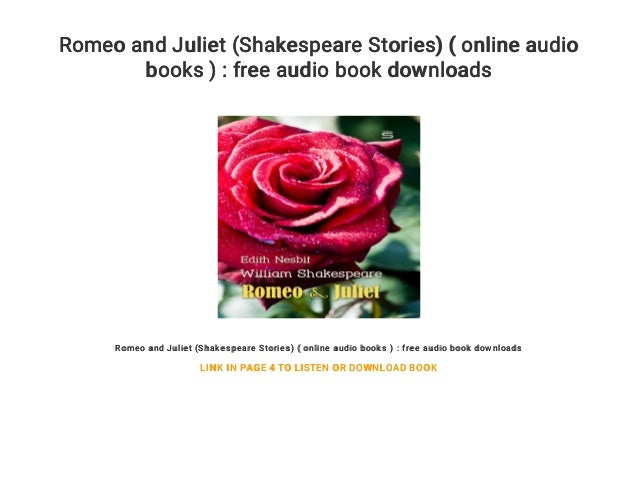 Book online and romeo juliet