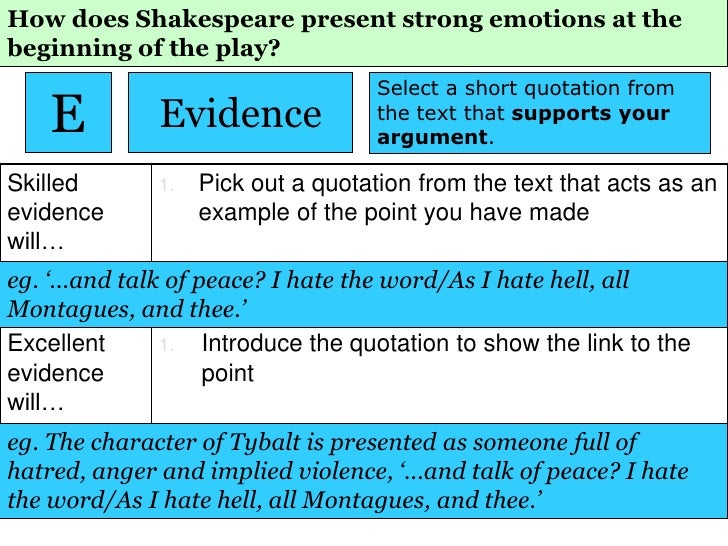 a literary analysis of the emotions in romeo and juliet by william shakespeare No, madam, we've figured out the best things for me to wear tomorrow at the ceremony so if it's okay with you, i'd like to be left alone now.
