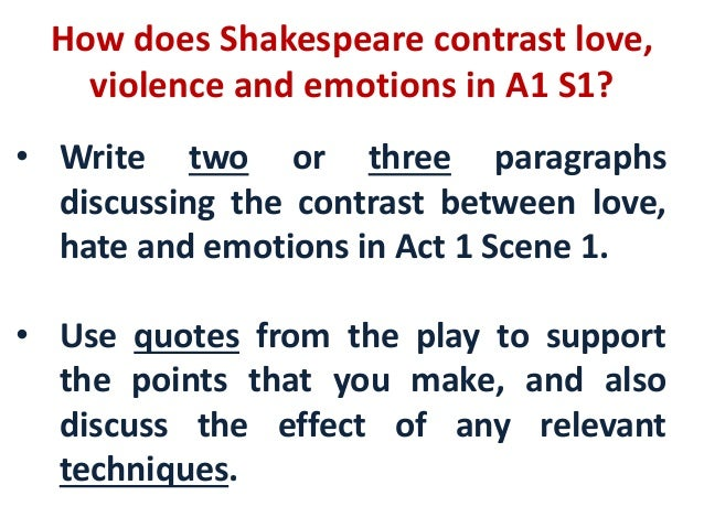 how shakespeare presents romeo's feelings in How does shakespeare present romeo and juliet in act 2 scene 2  juliet worries for romeo's safety and then she worries that he may be a deceiver,.