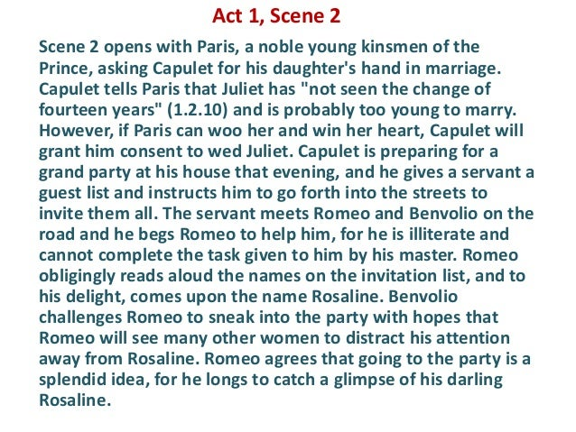characterisation in romeo and juliet