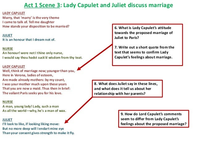 Romeo and Juliet - lessons, analysis, activities and