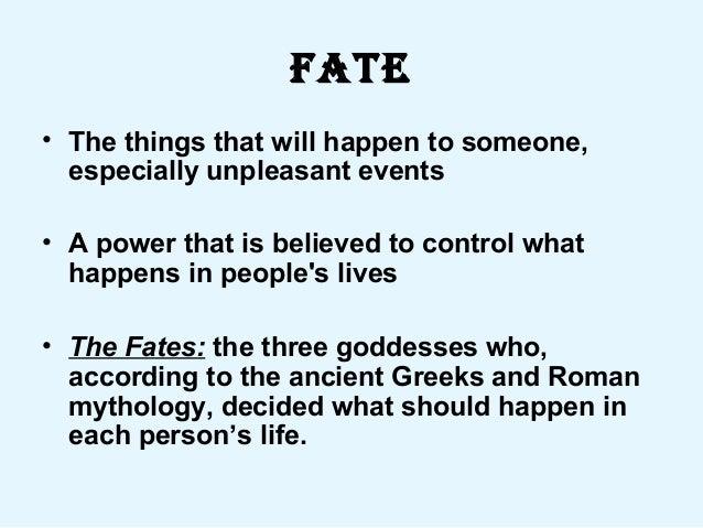 Romeo & juliet fate powerpoint