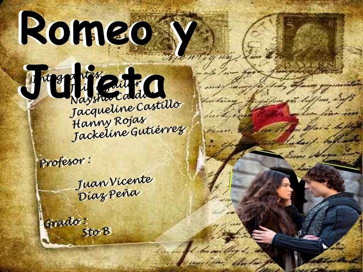 Romeo yJulieta