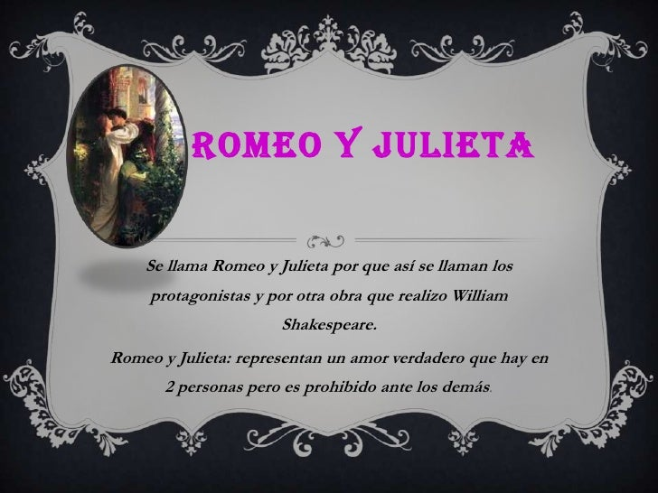Romeo Y Julieta Yury Patiño
