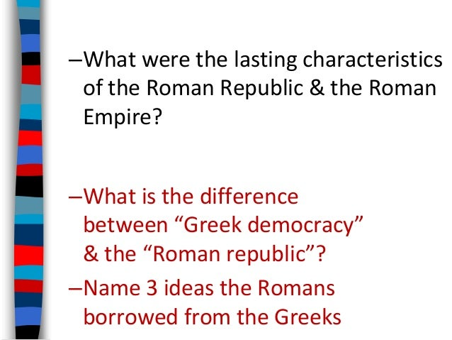 "roman republic athenian democracy and the Pair ""athenian democracy"" with ""greek philosophy"" and ask students to discuss the roles of ""the roman republic,"" is an informational text that."