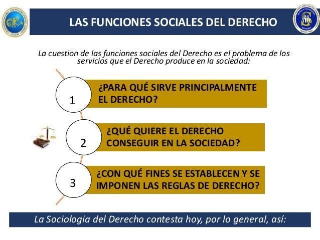 LA TEORÍA DE LAS FUNCIONES SOCIALES DEL DERECHO - KARL