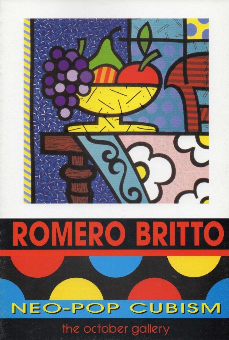 ROMERO BRITTOJ J E O - P O P      the October gallery
