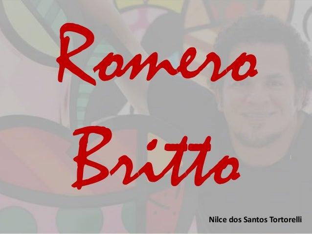 Romero  Britto  Nilce dos Santos Tortorelli