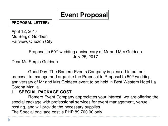 Romero events 28 638gcb1470136344 sample event proposal letter 7 examples in word pdf altavistaventures Gallery