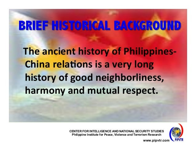 latest news in china and philippines relationship