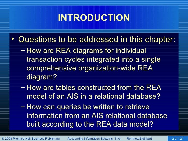 Implementing an rea model in a relational database chapter 16 hapter 16 implementing an rea model in a relational database 2 ccuart Gallery