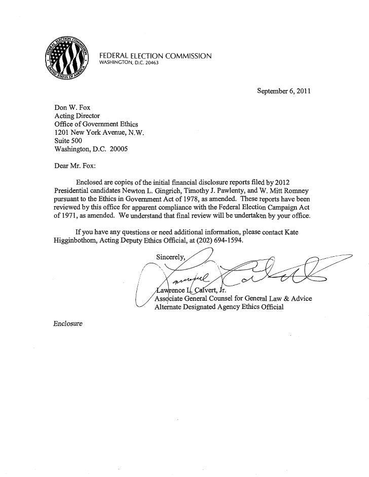 FEDERAL ELECTION COMMISSION                WASHINGTON, D.C. 20463                                                         ...