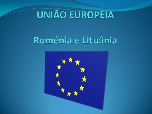 Roménia Moeda: Leu Romeno (RON) Capital: Bucareste Entrada para a UE: 2007 PIB(per capita): $11.600 (2010) Localizaçã...