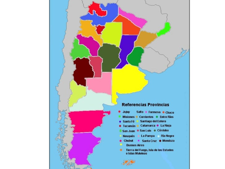 Rompecabezas Argentina Y Sus Provincias
