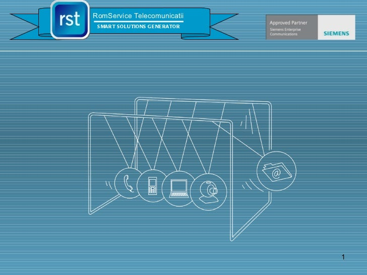 RomService Telecomunicatii SMART SOLUTIONS GENERATOR