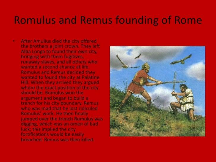 romulus and remus founding of rome jozey jezek