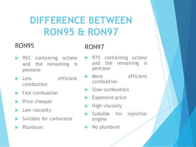 Ron95 Vs Ron97
