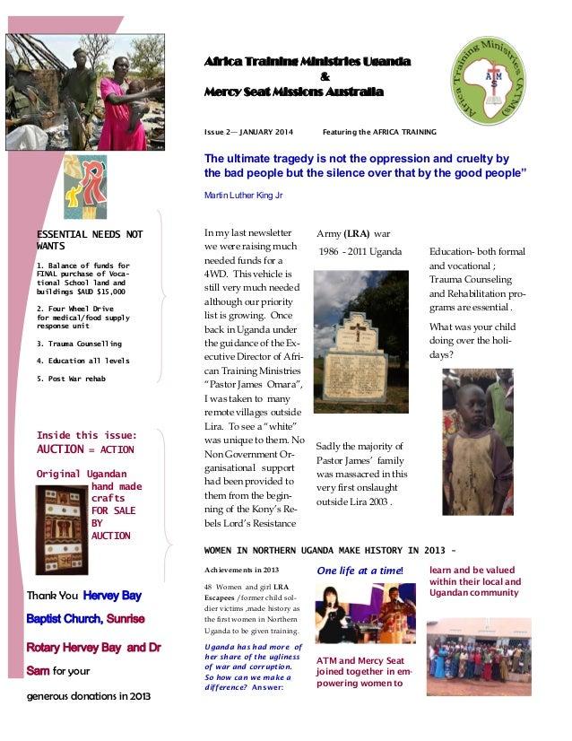 Ronelde Earle Newsletter