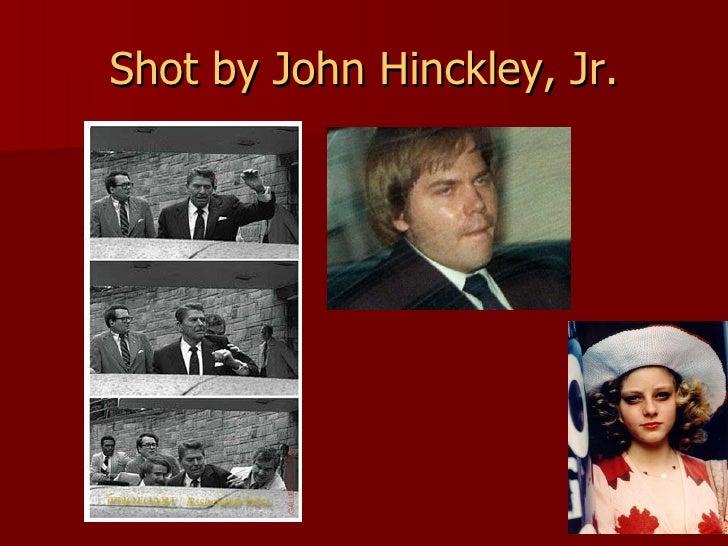 Shot by John Hinckley, Jr.