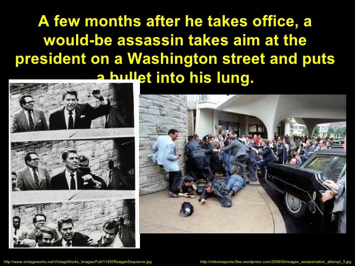 A few months after he takes office, a        would-be assassin takes aim at the     president on a Washington street and p...