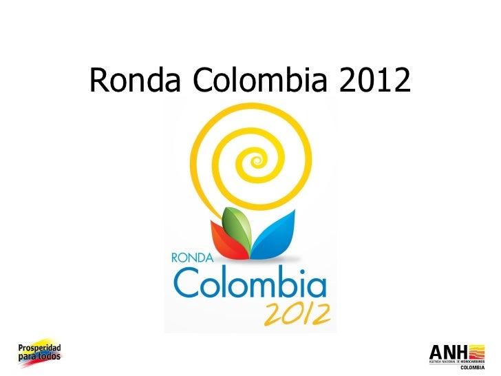 Ronda Colombia 2012