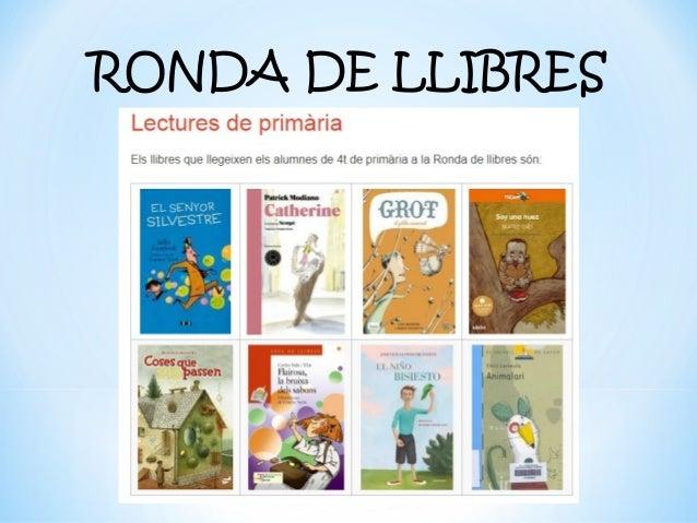 RONDA DE LLIBRES 18-19