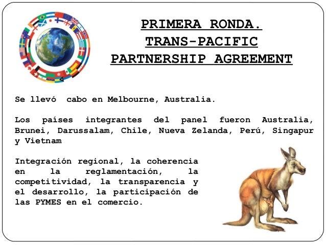 Rondas del tpp (trans pacific partnership agreement) Slide 2