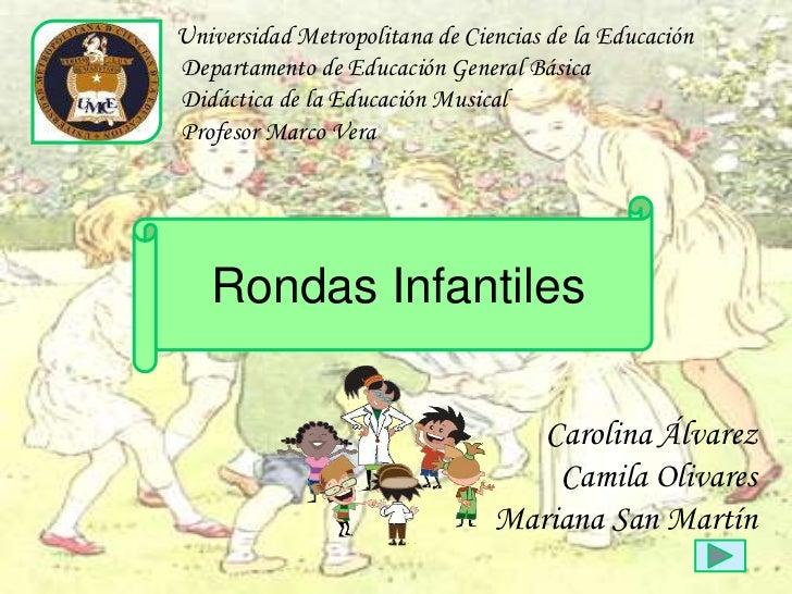 Universidad Metropolitana de Ciencias de la EducaciónDepartamento de Educación General BásicaDidáctica de la Educación Mus...