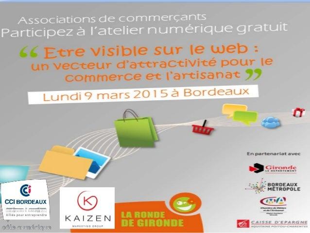 • Des Ateliers sur le e-marketing, veille, sécurité informatique, e-logistique…, en partenariat avec des experts locaux ou...