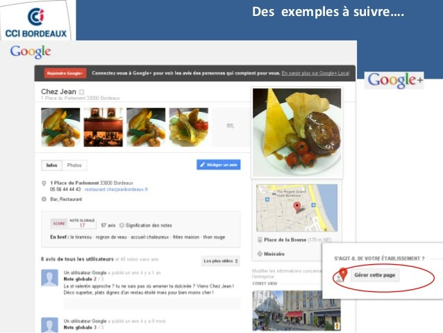 Etre visible sur le web un vecteur d 39 attractivit pour le commerce - Office de commerce bayonne ...