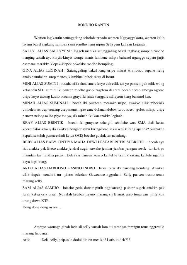 Teks Drama Komedi 4 Orang Bahasa Jawa Episode 13 Season 6 How I