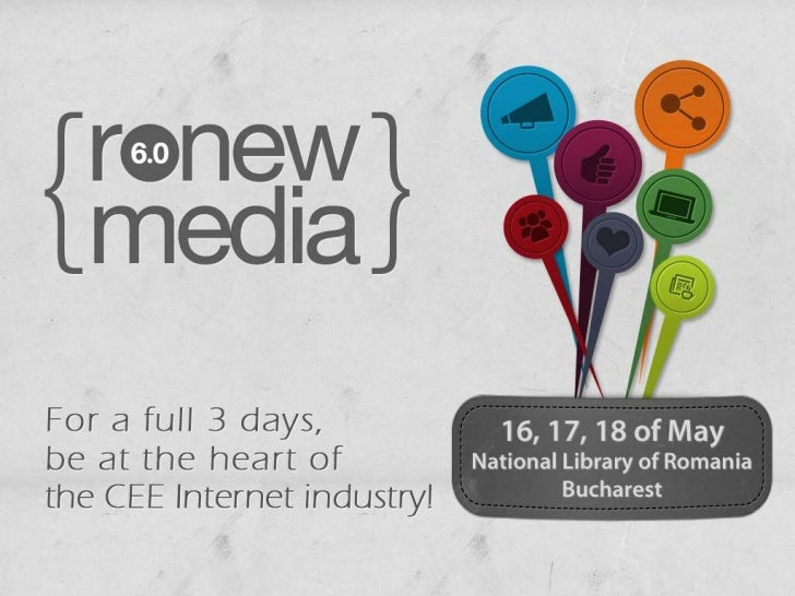 Bucharest, the heart of the          CEE Internet Industry!3 days for undisputed leaders of the Internet to speak aboutcut...