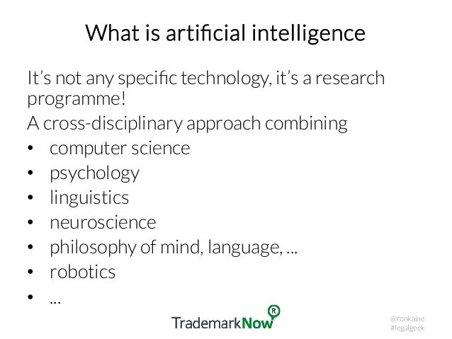 AI in legal practice – the research perspective Slide 3