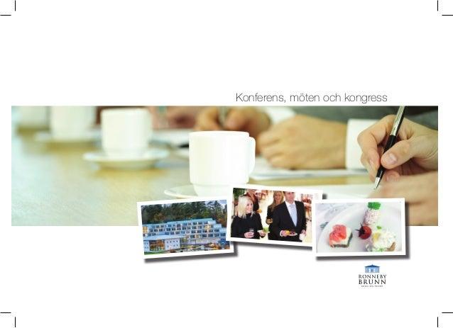 Konferens, möten och kongress