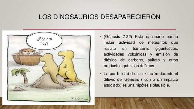 Como Situar A Los Dinosaurios En Un Contecto Biblico Yo creo en la biblia como la palabra de dios pero se que los humanos no son perfectos. como situar a los dinosaurios en un