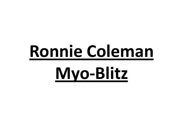 Ronnie Coleman Myo-Blitz
