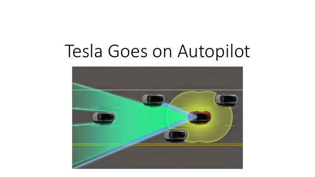 Tesla Goes on Autopilot