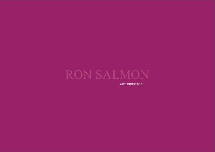 RON SALMON                                     ARTDIRECTOR             RON SALMON                      ARTDIRECTOR      ...