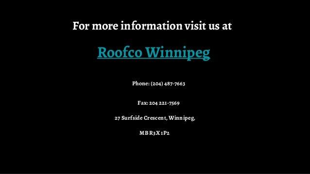 Roofco Winnipeg