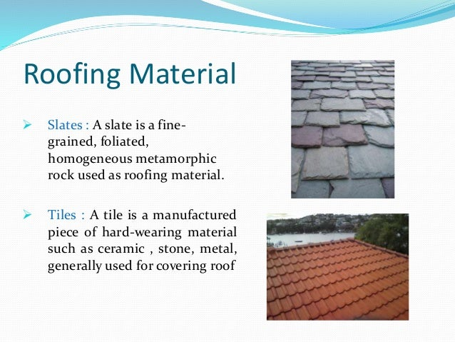 Roofing Material ...